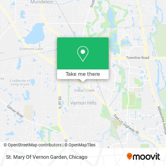 St. Mary Of Vernon  Garden mapa