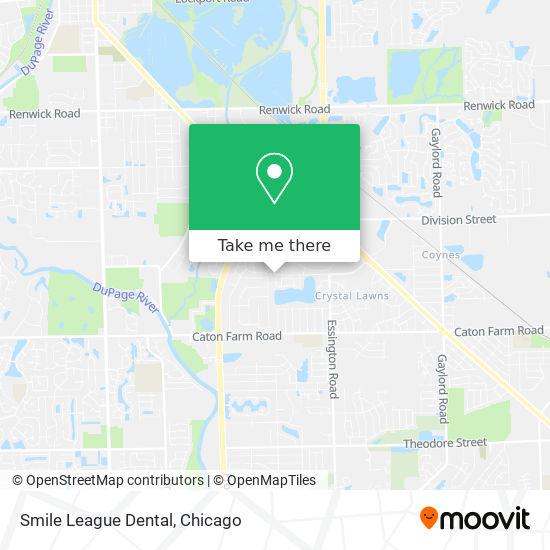 Smile League Dental地图