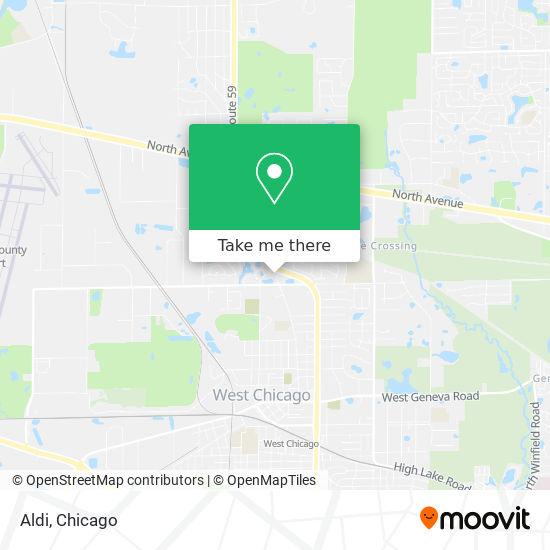 Aldi地图