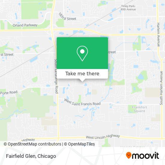 Fairfield Glen plan