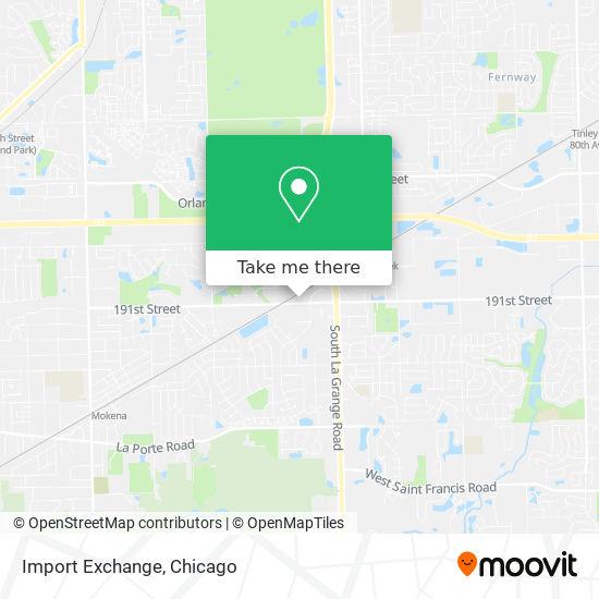 Import Exchange plan