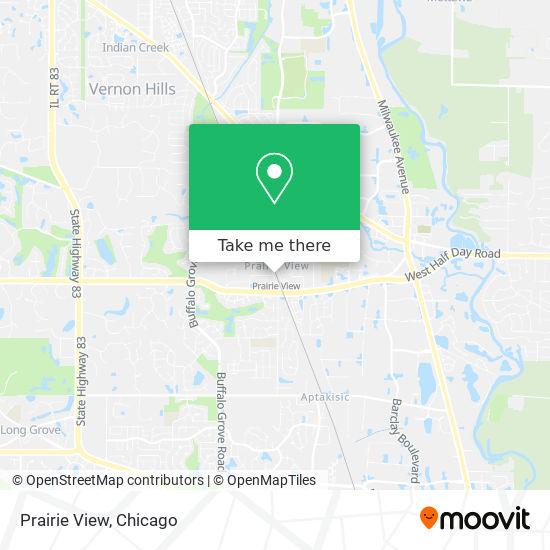 Mapa de Prairie View