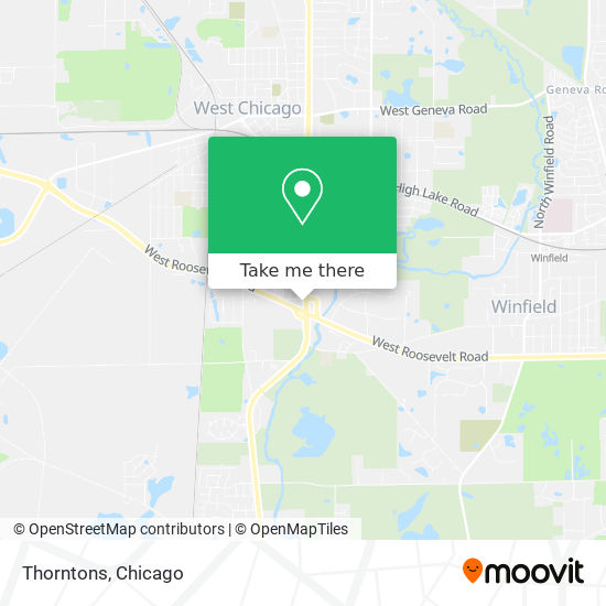Thornton's Gas Station map