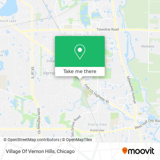 Village Of Vernon Hills map