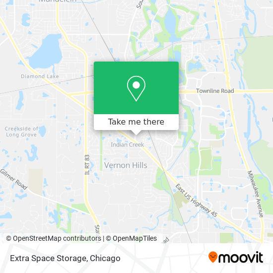 Extra Space Storage mapa