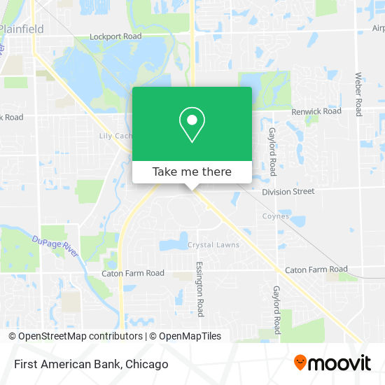 First American Bank地图