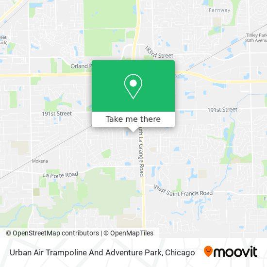 Urban Air Trampoline And Adventure Park plan