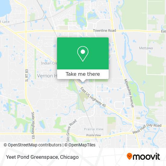Mapa de Yeet Pond Greenspace
