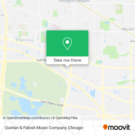 Mapa de Quinlan & Fabish Music Company