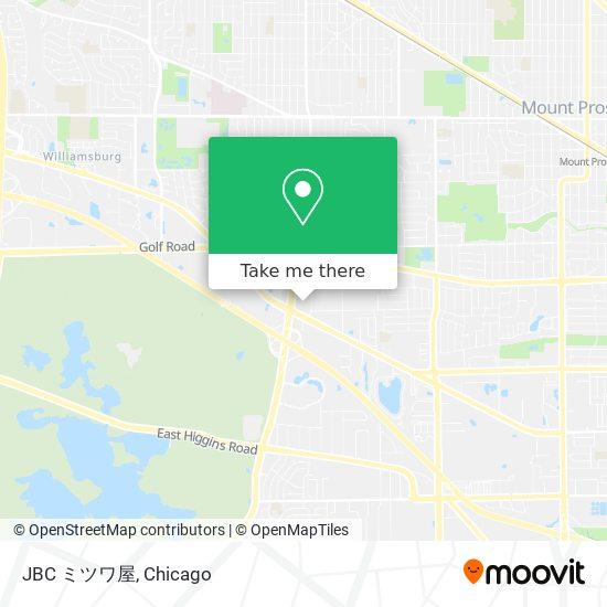 JBC ミツワ屋地图