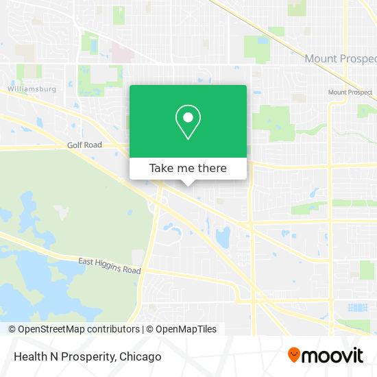 Mapa de Health N Prosperity