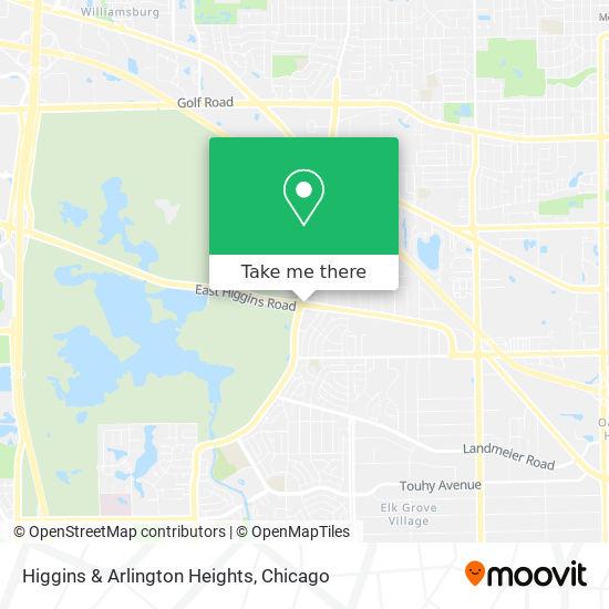 Higgins & Arlington Heights地图