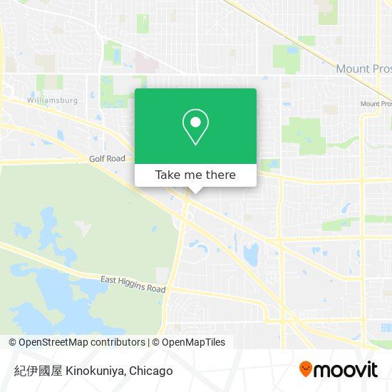 紀伊國屋 Kinokuniya地图
