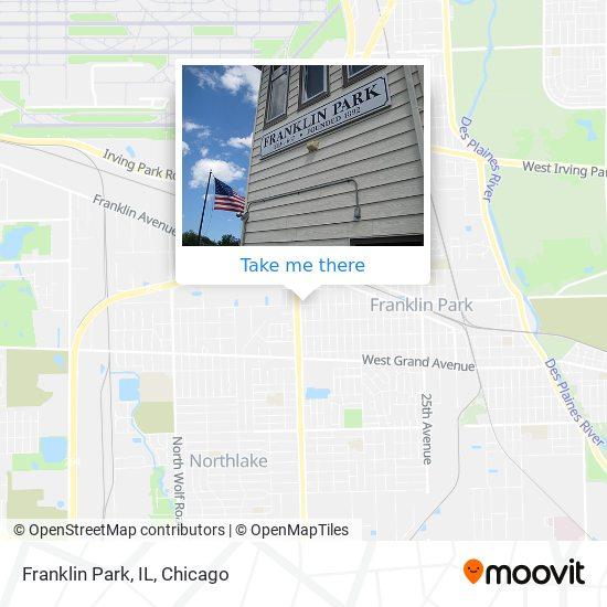Franklin Park, IL map