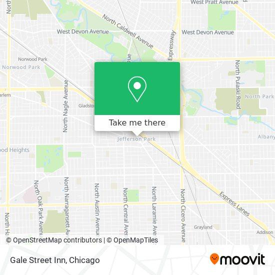 Gale Street Inn plan