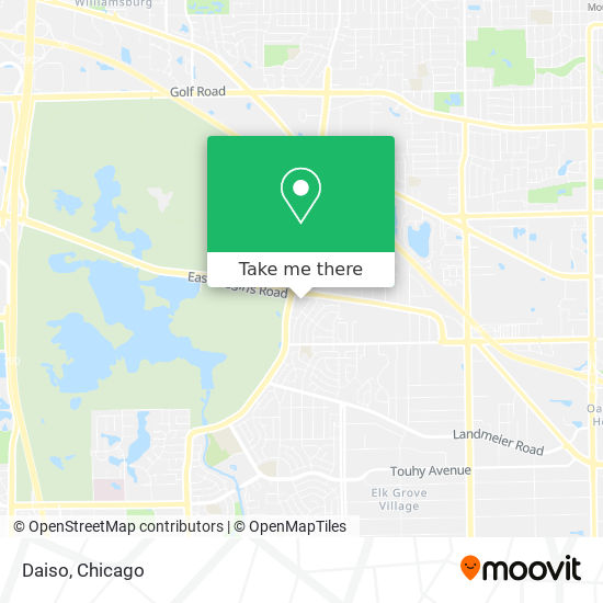 Daiso地图
