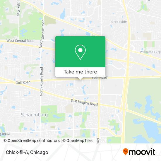 Chick-fil-A map