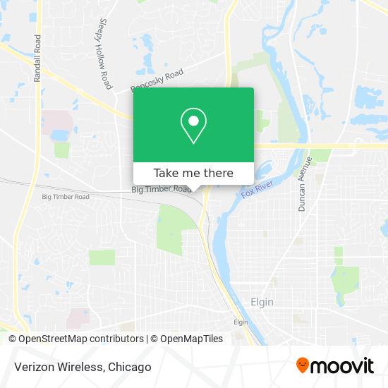 Verizon Wireless map