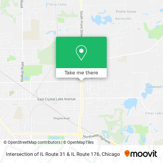 Intersection of IL Route 31 & IL Route 176 plan