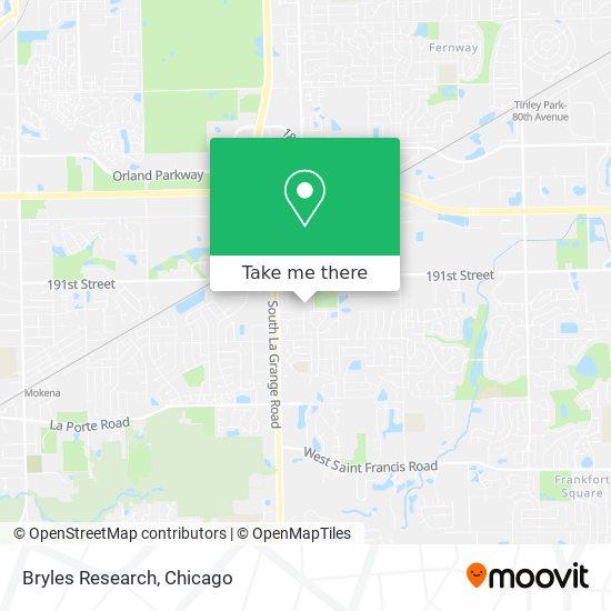 Bryles Research mapa