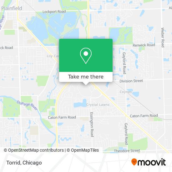 Torrid地图