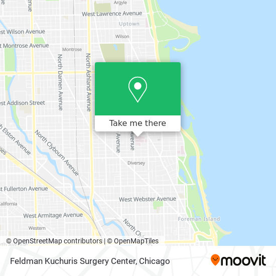 Feldman Kuchuris Surgery Center map