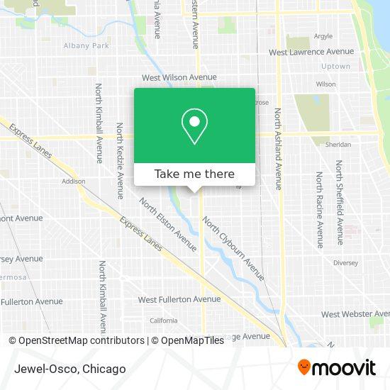Jewel-Osco map