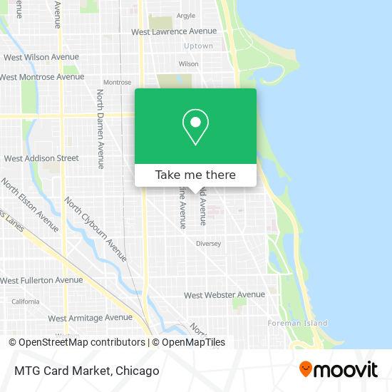 MTG Card Market map