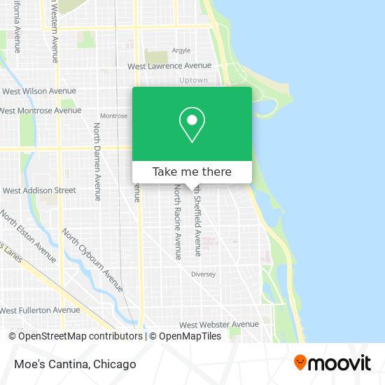 Moe's Cantina map