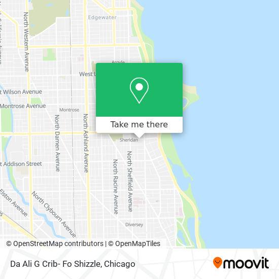 Da Ali G Crib- Fo Shizzle map