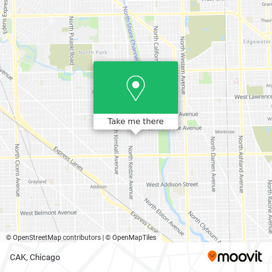 CAK map