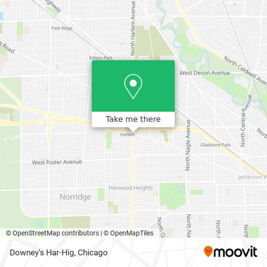 Downey's Har-Hig map