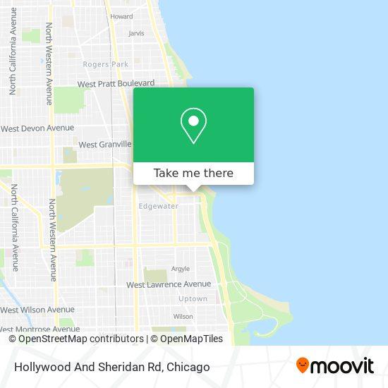 Hollywood And Sheridan Rd map