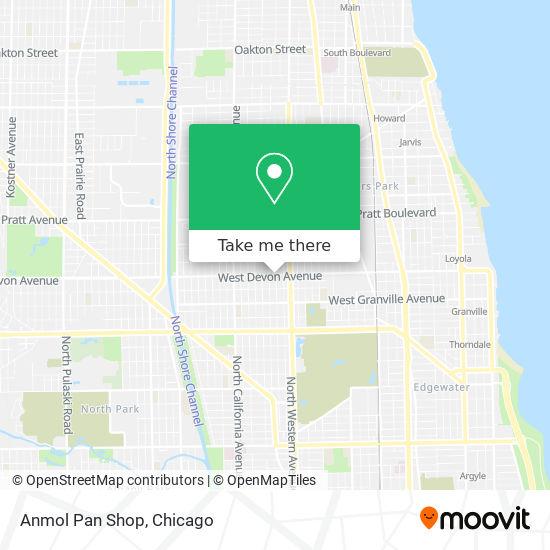 Anmol Pan Shop map