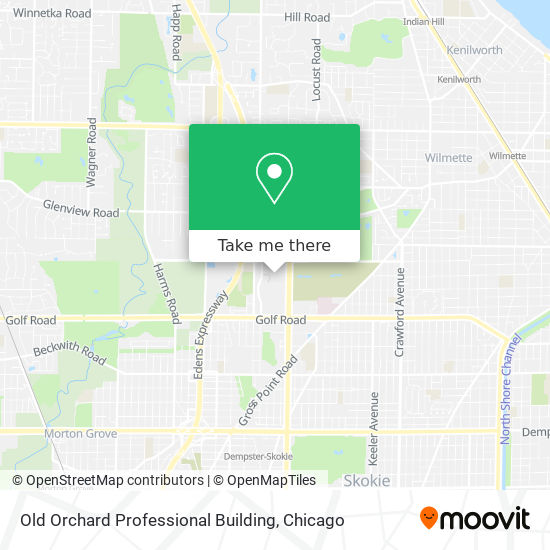 Old Orchard Professional Building map