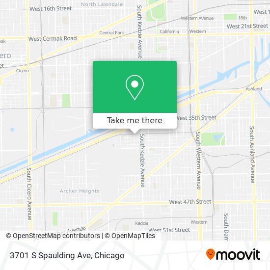 3701 S Spaulding Ave map