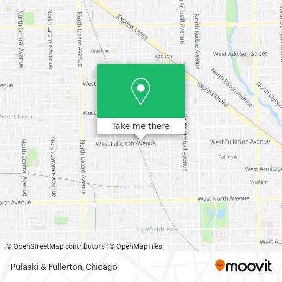 Pulaski & Fullerton map