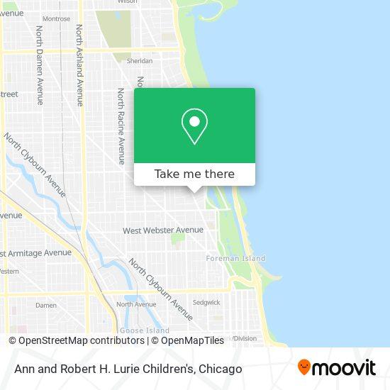 Ann and Robert H. Lurie Children's map