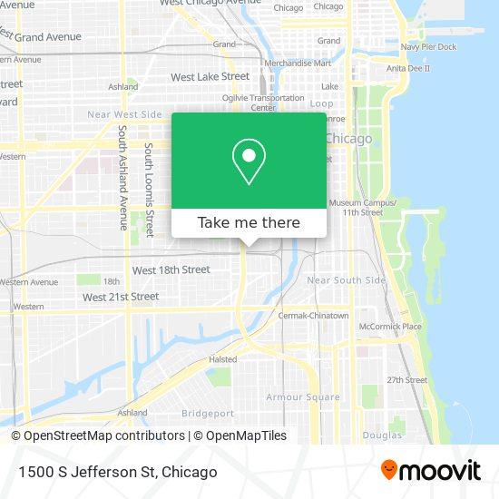 1500 S Jefferson St map