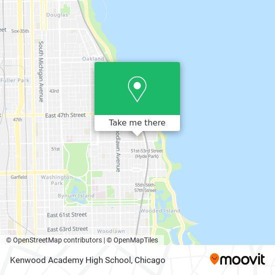 Kenwood Academy High School map