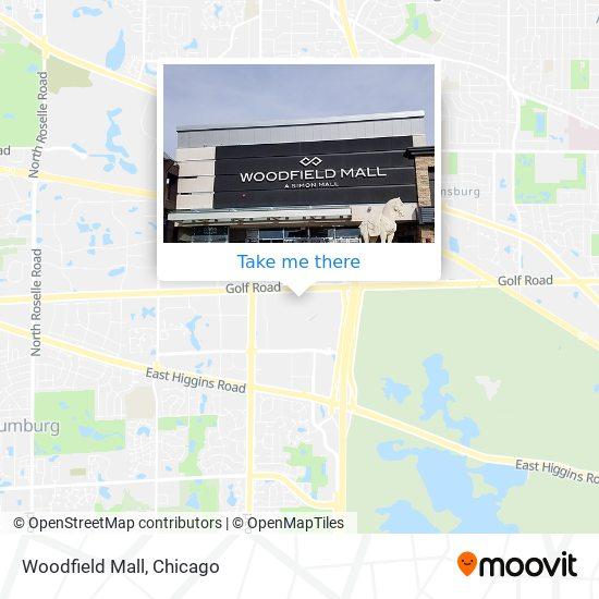 Woodfield Mall map