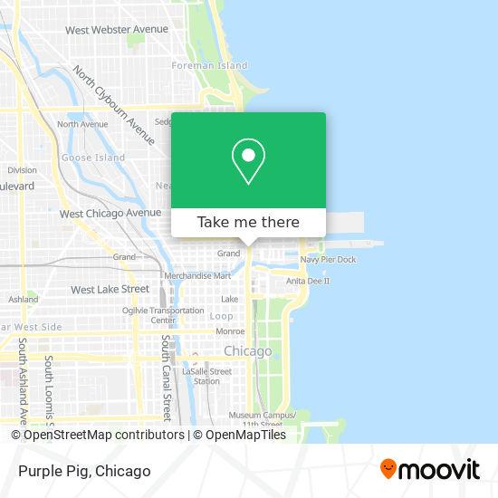 Purple Pig map