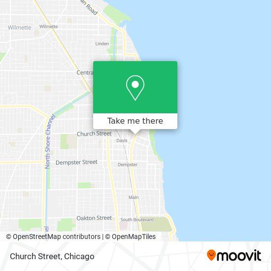 Church Street map