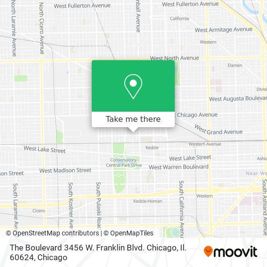 The Boulevard 3456 W. Franklin Blvd. Chicago, Il. 60624 map