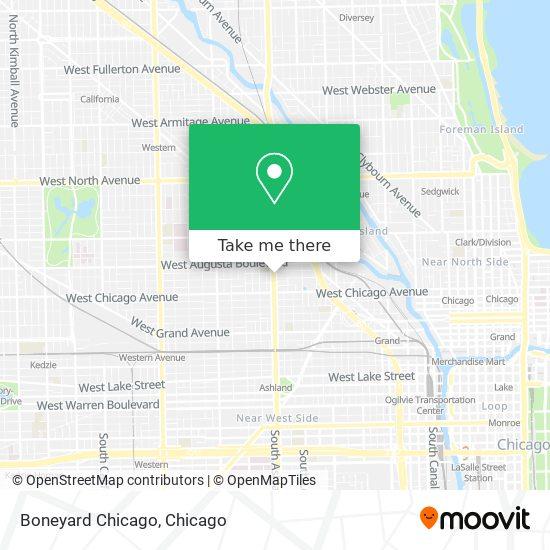 Boneyard Chicago map