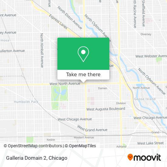 Galleria Domain 2 map