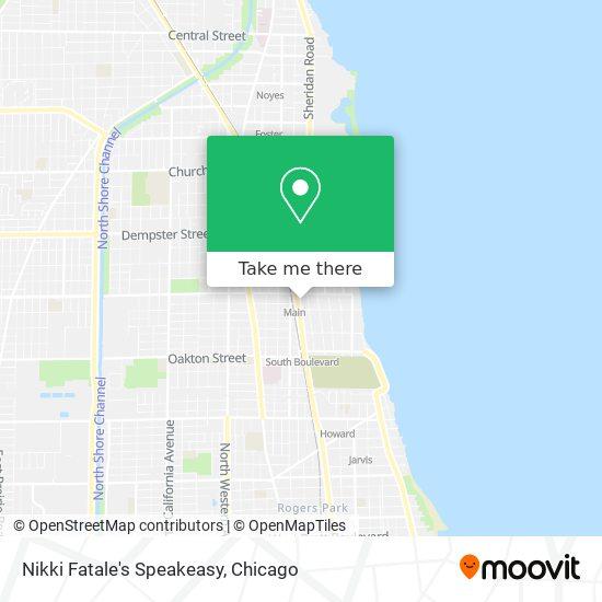 Nikki Fatale's Speakeasy map