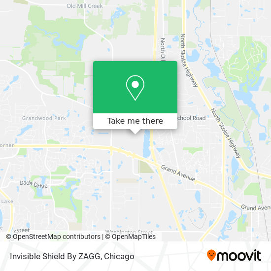 Invisible Shield By ZAGG map
