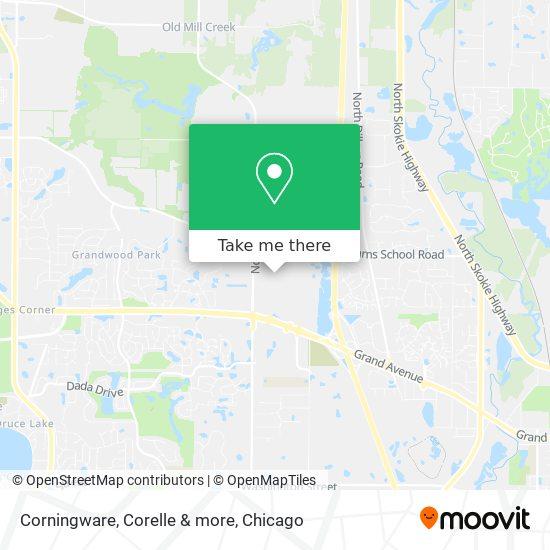 Corningware, Corelle & more map
