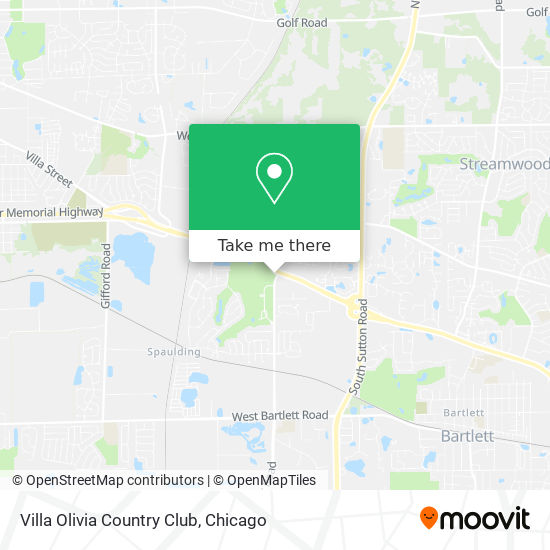 Villa Olivia Country Club map